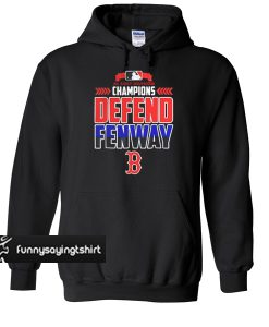 Al east division champions defend fenway B 2018 hoodie