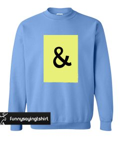 And Graphic sweatshirt