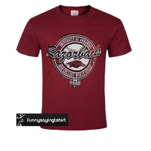 Arkansas Razorbacks t shirt