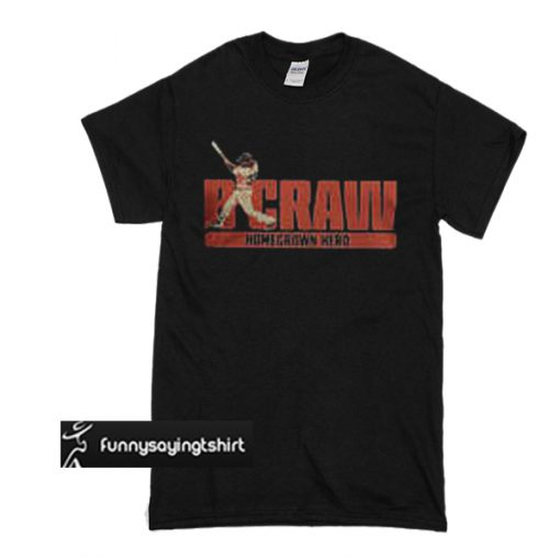 B Crawling Brandon Crawford San Francisco Giants 2018 t shirt