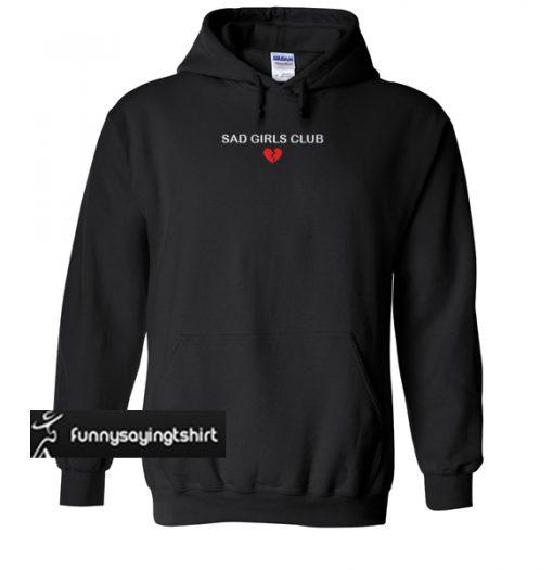 Cheap Sad Girls Club Member Unisex hoodie