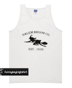 Salem Broom CO EST 1692 tank top