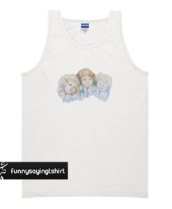 Three Angels tank top