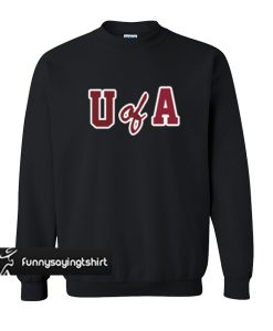 U Of A sweatshirt
