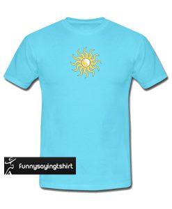 Yin yang sunshine t shirt