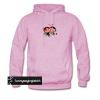 (MEN HOOD) powerpuff girl buttercup kiss hoodie