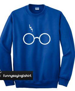 Wizard Sweatshirt unisex fit sweatshirt blue