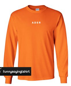 Ader Orange Sweatshirt
