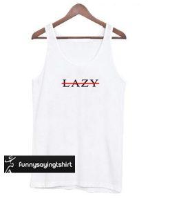 Lazy Cross Line tank top