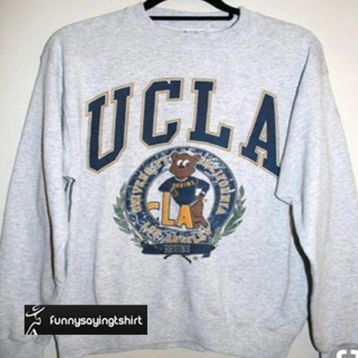UCLA Bruins logo sweatshirt