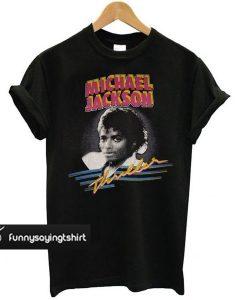 1982 MICHAEL JACKSON THRILLER t shirt