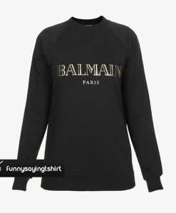 Balmain Paris Sweatshirt