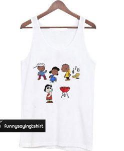 The Peanuts BBQ Becky Snitch tank top