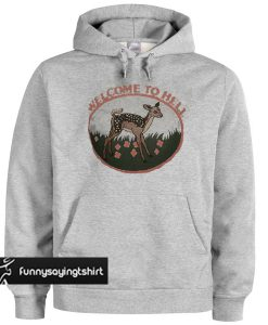 WELCOME To HELL Grey Hoodie
