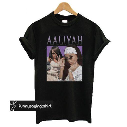 Aaliyah t shirt