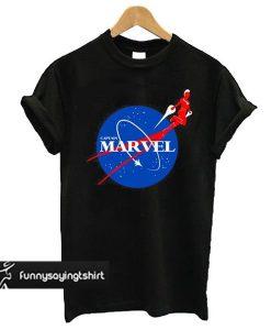 Nasa Captain Marvel t shirt