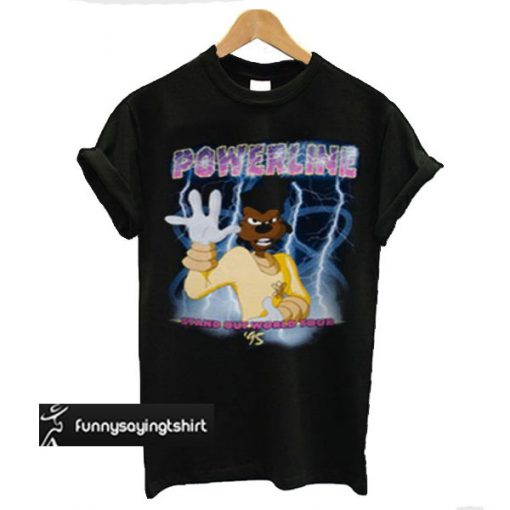 Powerline Stand Out Tour t shirt