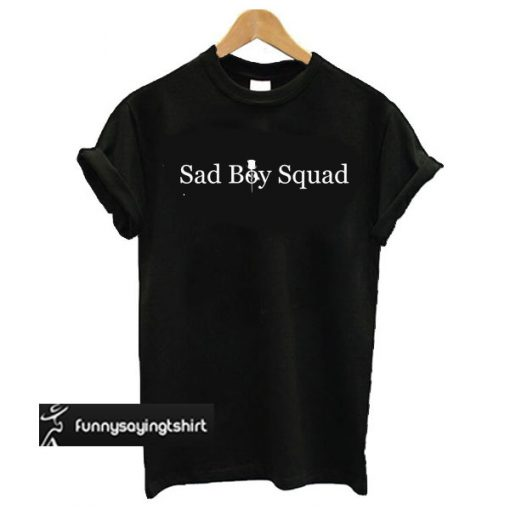 Sad Boy Squad t shirt