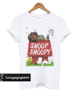 Snoop Dogg Snoopy t shirt