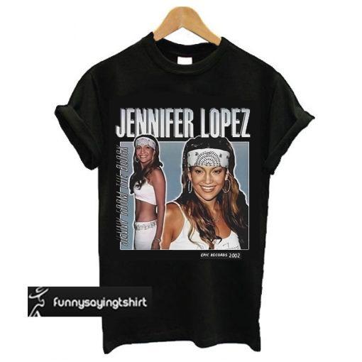 Jennifer Lopez t shirt