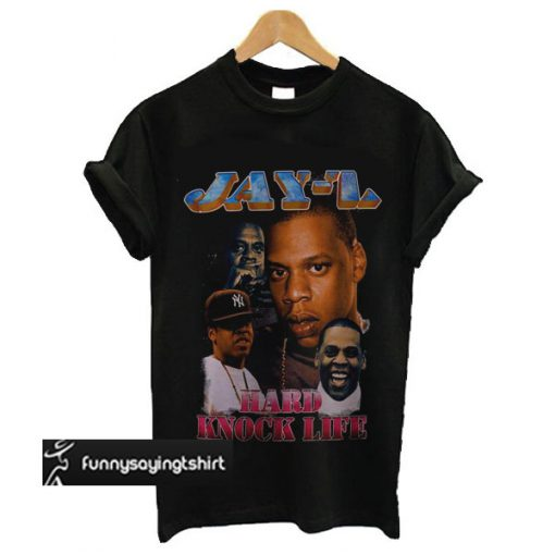 Jay-Z Hard Knock Life t shirt