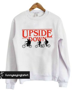 Upside Down Stranger Things sweatshirt