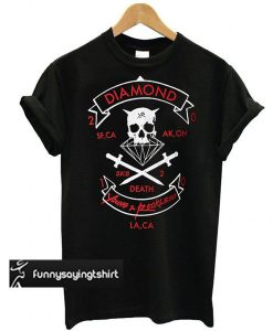 Young & Reckless x Diamond t shirt
