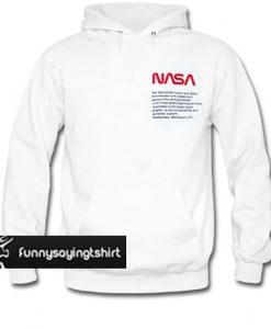 Heron Preston x NASA hoodie