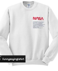 Heron Preston x NASA sweatshirt