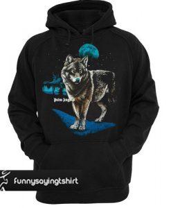 Palm Angels Alfa Wolf Printed hoodie