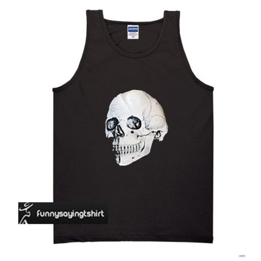 Skull In My Heart tank top