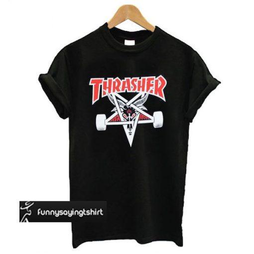 Thrasher Two Tone Skategoat t shirt
