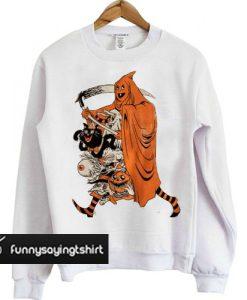 'Saint Halloween' sweatshirt
