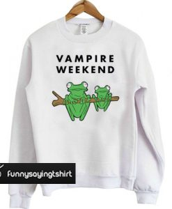 Vampire Weekend Frog sweatshirt