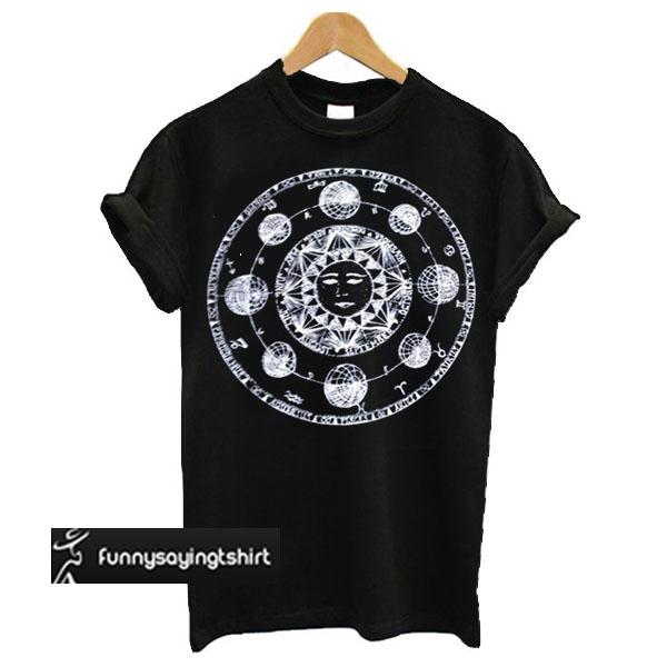New SUN MOON T Shirt