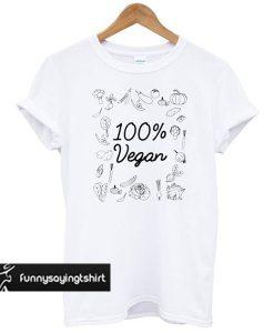 100% Pure Vegan – World Vegetarian Day t shirt
