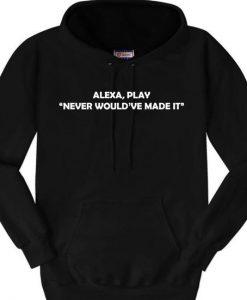 Alexa hoodie
