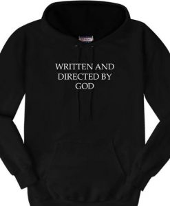 Written By God hoodie
