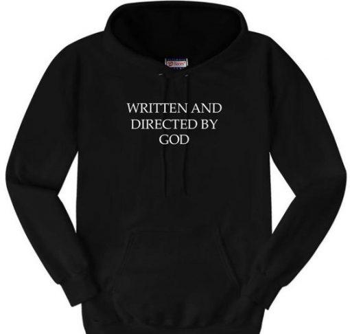 Written By God hoodie