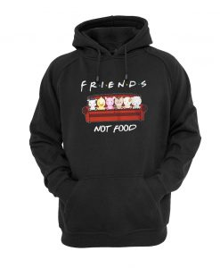 Animals Friends Not Food hoodie