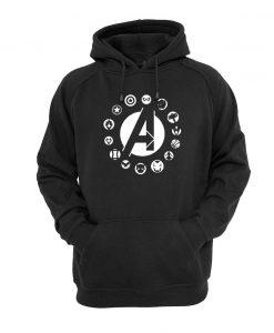 Avengers Team Logo hoodie
