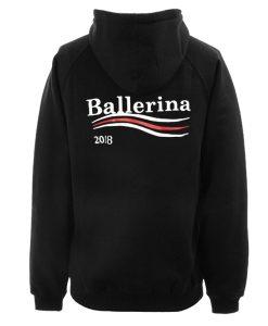 Ballerina hoodie back