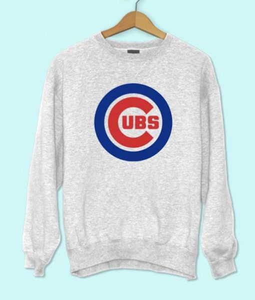 Chicago Cubs logo sweatshirt