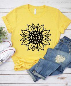 Sunflower Yellow t shirt