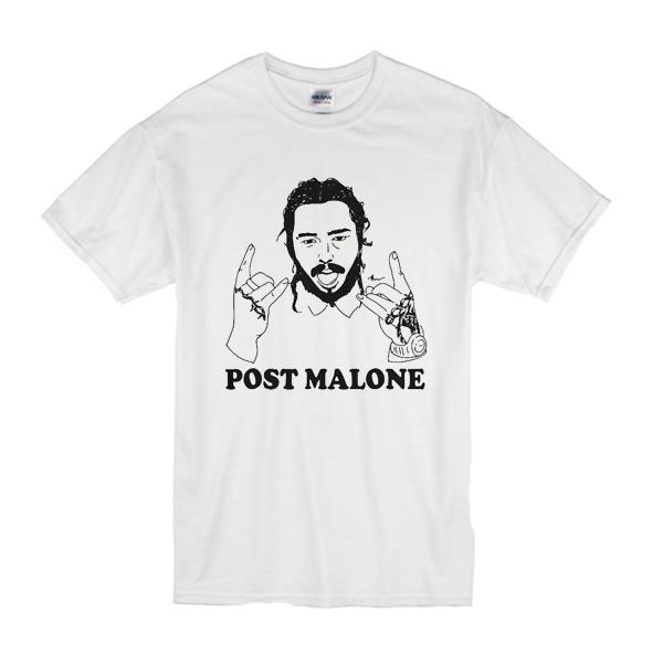Post Malone Leave: Vintage Rapper Post Leave Me Malone T Shirt