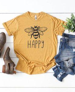 Women's Bee Happy t shirt