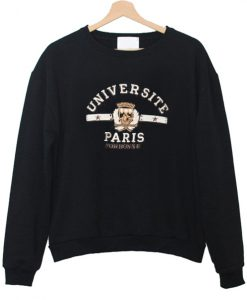 universite paris sweatshirt
