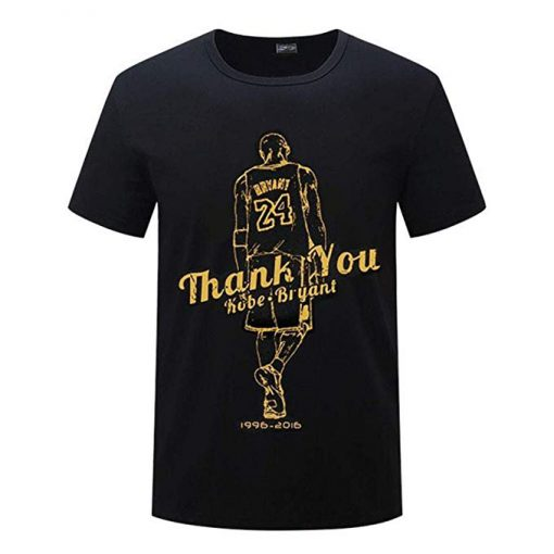 Black Mamba Kobe Retire Memorial t shirt