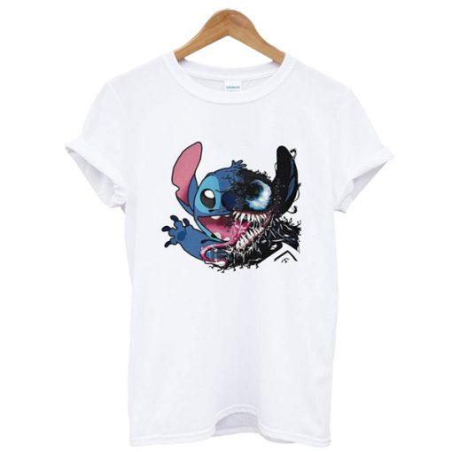 Disney Stitch vs Venom t shirt