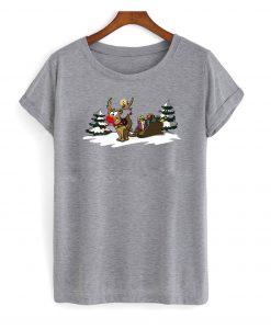 Weihnachtsgeschenke Rudolph the rednosed reindeer t shirt